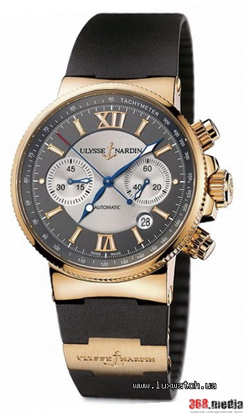 Ulysse Nardin, Marine Collection, Maxi Marine Chronograph, 356-66-3/319. Фото: LuxWatch.ua