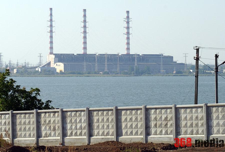 Вид на Дубоссарскую ГЭС