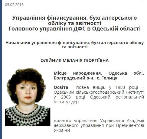 Чиновница ГФС Одесской области несколько лет воровала деньги с государственных счетов - Цензор.НЕТ 2697