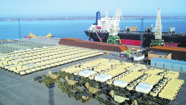 Порт Ольвия 25 лет бесплатно хранил огромную партию боеприпасов