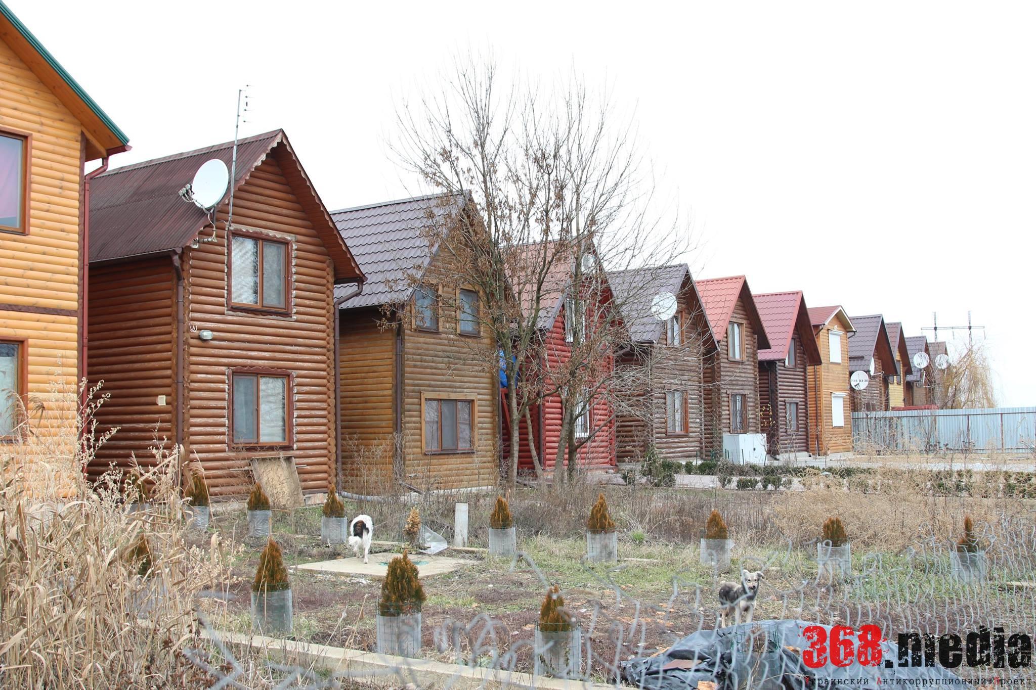 В Одесской области егерский пункт заповедной зоны превратился в элитный поселок