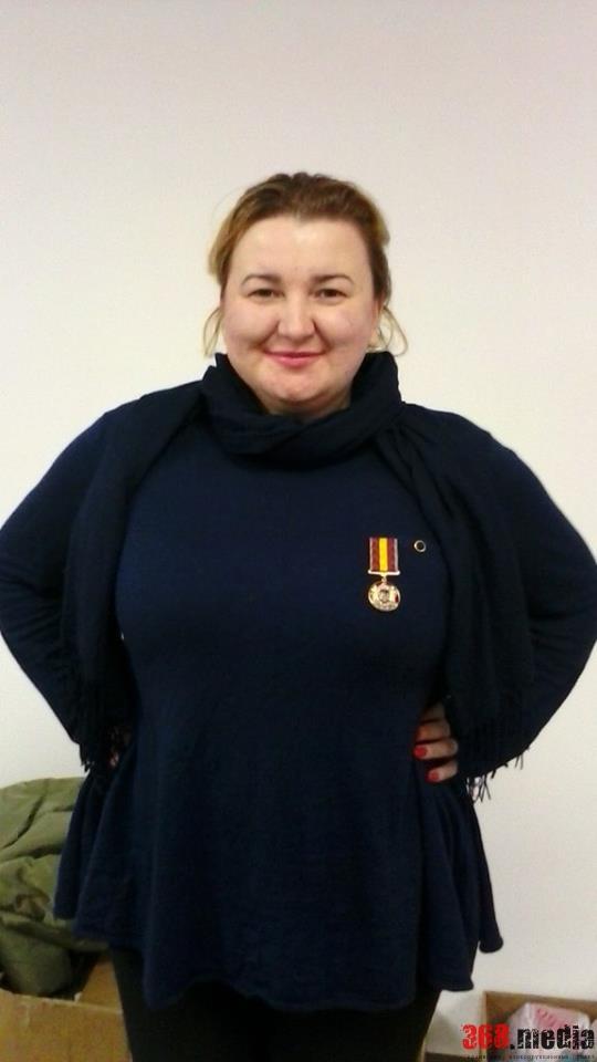 «Мой номер есть у десяти тысяч солдат» – волонтер Далия Северин