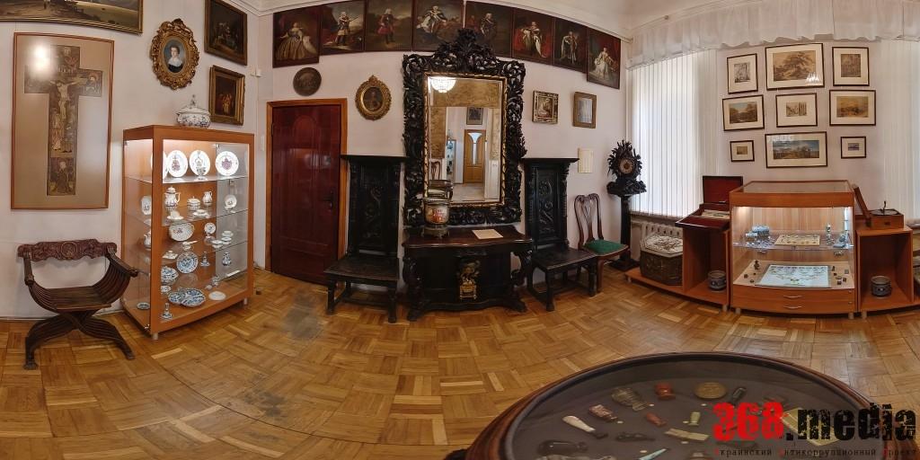 Внутри муниципального музея Блещунова. Фото: odessa360.net