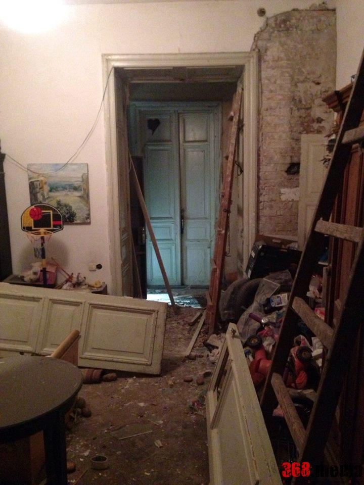 Пострадавшая квартира. Фото: Facebook.com