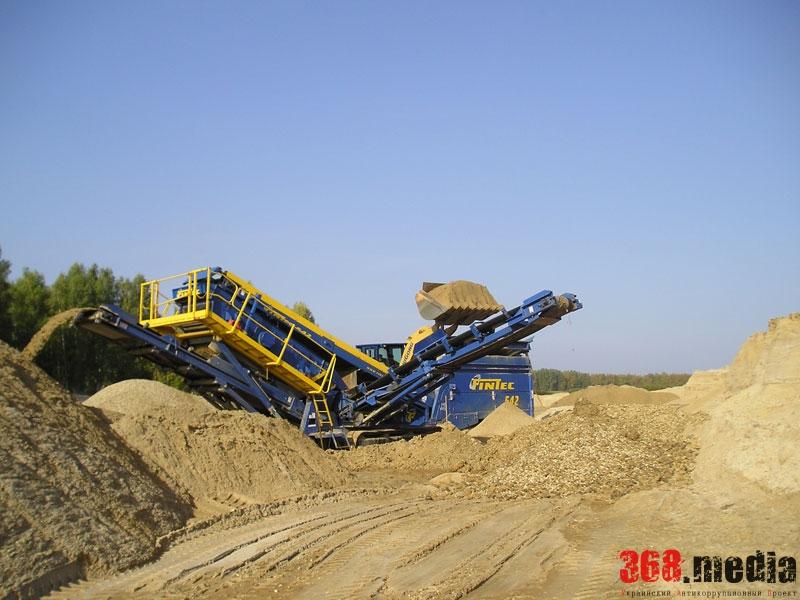 Николаевская фирма незаконно добыла гранита и песка на 50 миллионов гривен