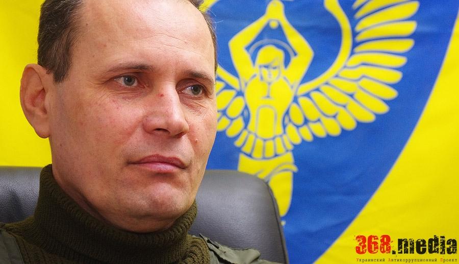 «Насилие не сможет решить наши проблемы» – глава «Самообороны Одессы» Виталий Кожухарь