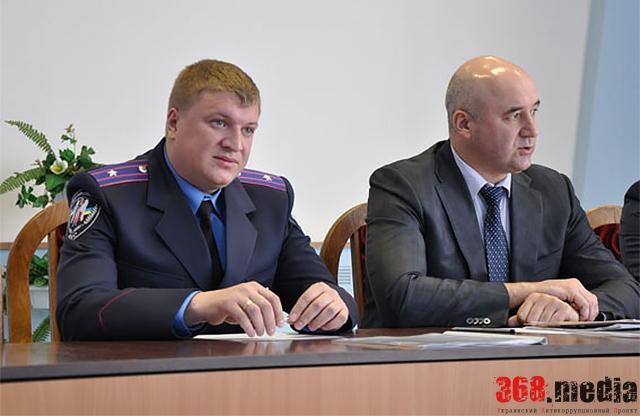 Полтавскую ГАИ вместо взяточника Блаживского возглавил боевой офицер