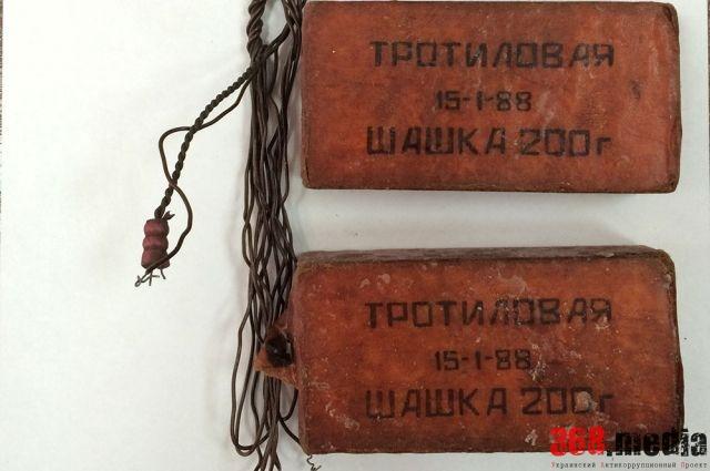 Житель Запорожья пытался продать 200 килограммов тротила