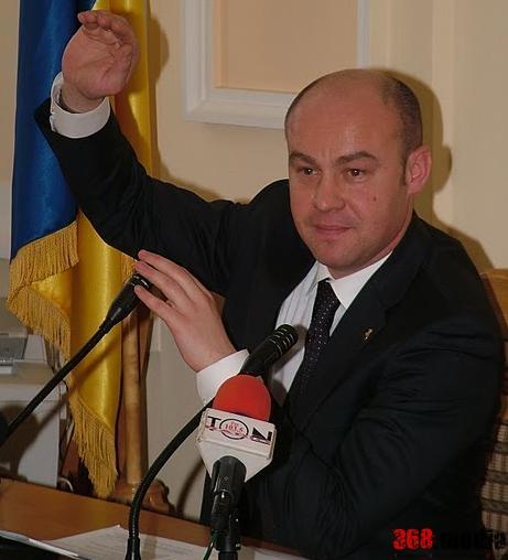 Мэр Тернополя Сергей Надал.  Фото: doba.te.ua
