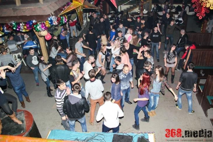 Танцпол ночного клуба
