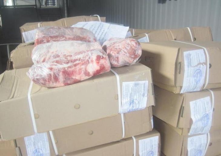 Пограничники раскрыли контрабандный канал поставок импортного мяса в «ДНР» и «ЛНР»