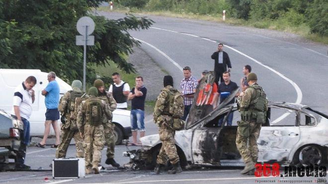 Бои за контрабанду в Мукачево: «Правый сектор» против олигарха