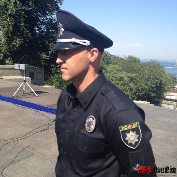 Главой патрульной полиции Одессы стал боец «Сокола»