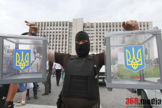 Выборы в Одессе: нарушение агитации и подкуп избирателей