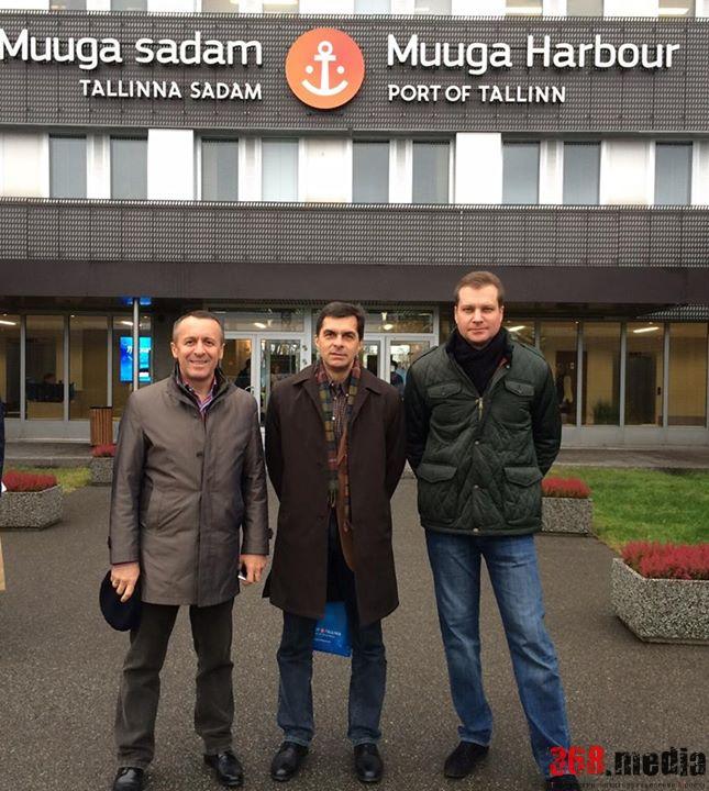 Сергей Крыжановский (слева) и вице-губернатор Одесской области Владимир Жмак
