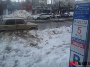 В Одессе арендатор парковки игнорирует решение горсовета (фото)