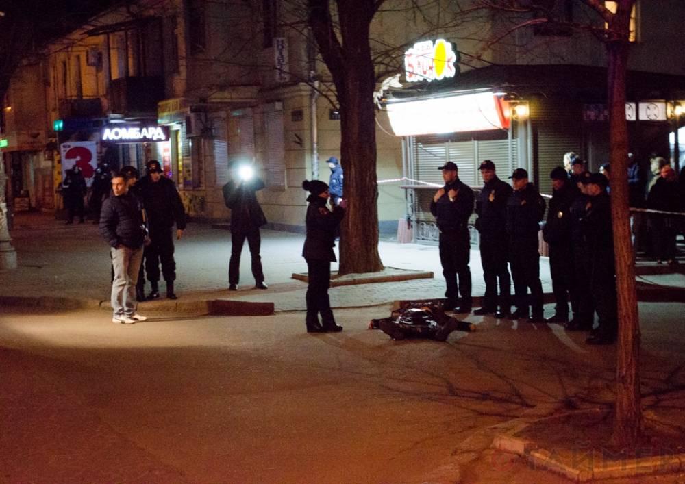 Версия полиции: напавший на одесских инкассаторов покончил с собой