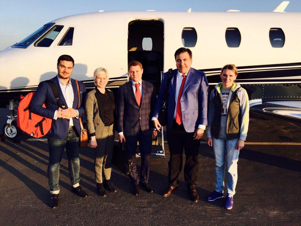 Саакашвили ищет инвесторов в Польше, а его советник просит иностранцев не вкладывать деньги