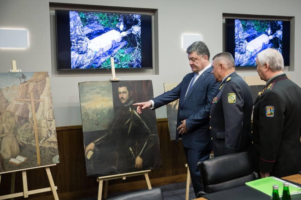 Пограничники вернули украинцам уникальные картины известных мастеров
