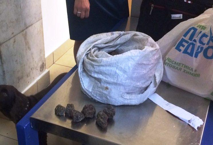Контрабандный янтарь продолжают провозить через Одесский аэропорт