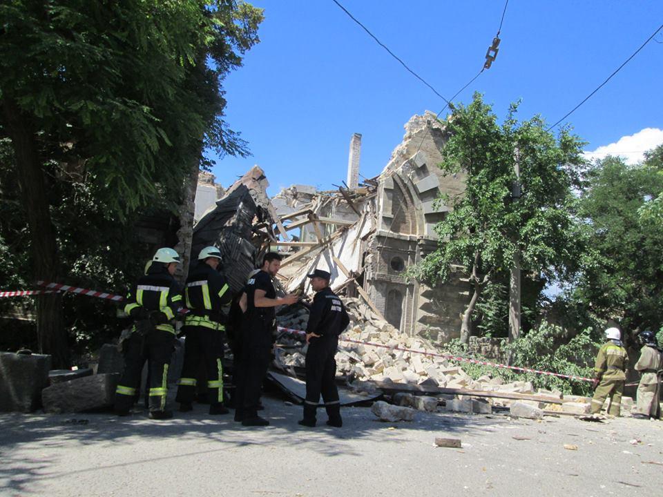 Тарпан отказался от разрушенного «Масонского дома» в Одессе