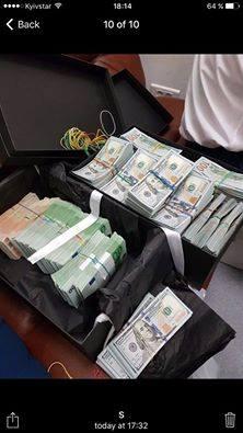 Ликарчук: в аэропорту Киева задержали «курьера» Насирова с миллионом долларов