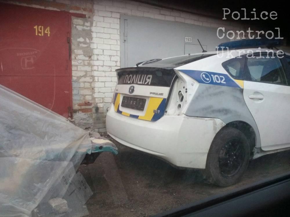 Общественники уличили патрульную полицию Харькова в афере с ремонтом авто