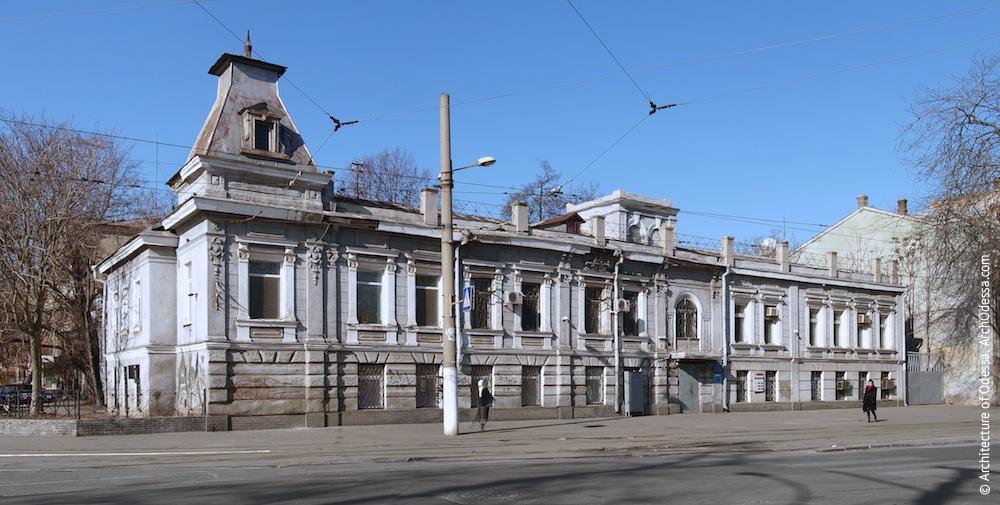 Комплекс домов Я. Л. Тарнопольского. Снесен. Фото: archodessa.com