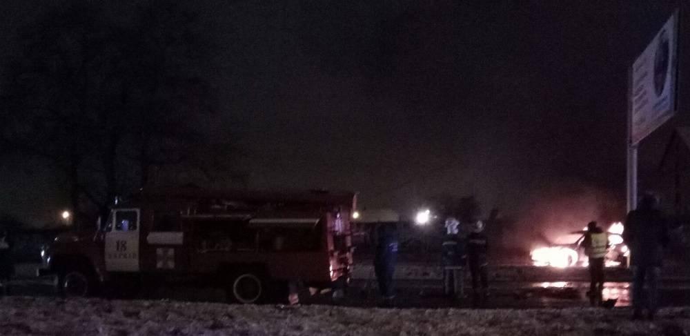 Спецназовцы полиции Харькова устроили жуткую аварию