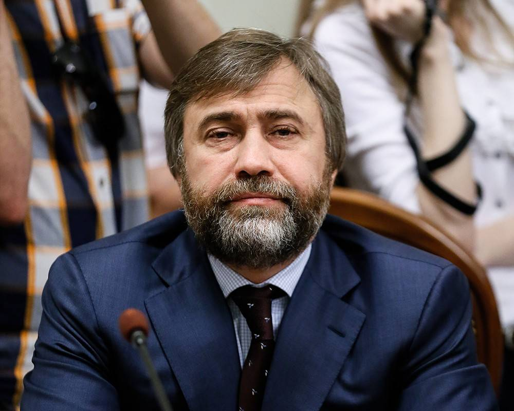 Россия сняла санкции с нардепа Новинского