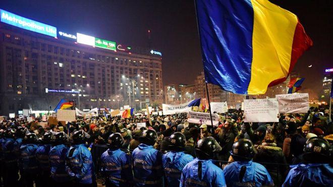 """В Румынии решили провести """"антикоррупционный"""" референдум"""