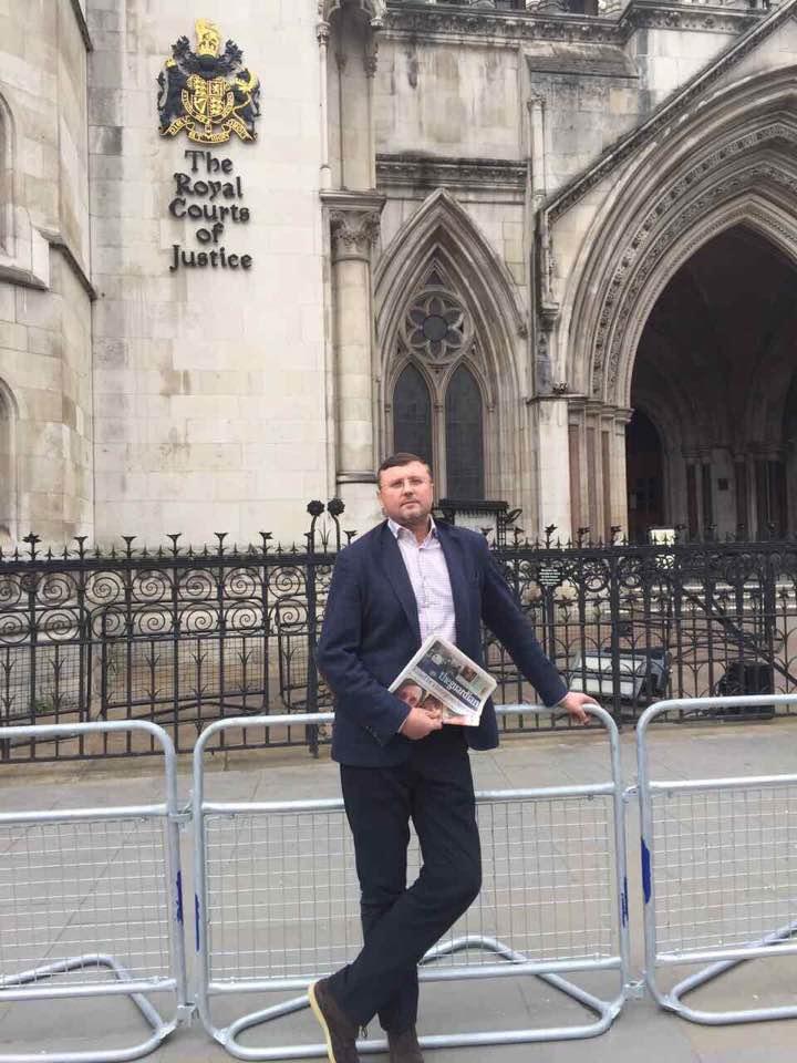 Герой Украины Бондарчук до сих пор находится на свободе