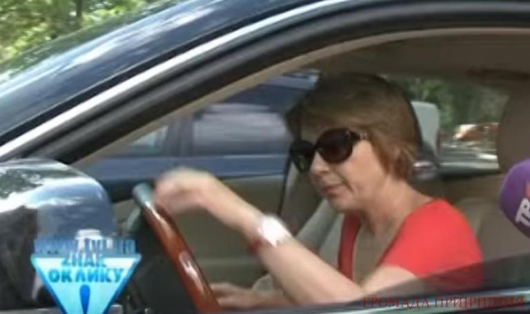 У супруги скандального мэра Бучи угнали Lexus