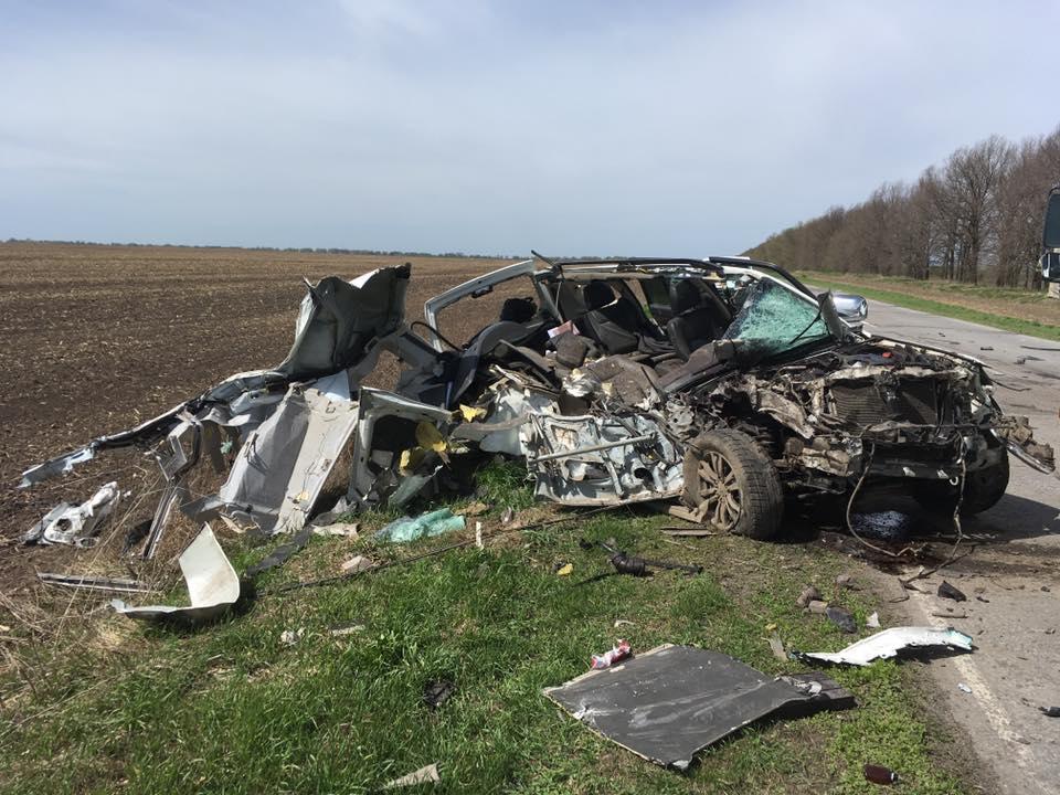 Экс-министр Швайка попал в аварию