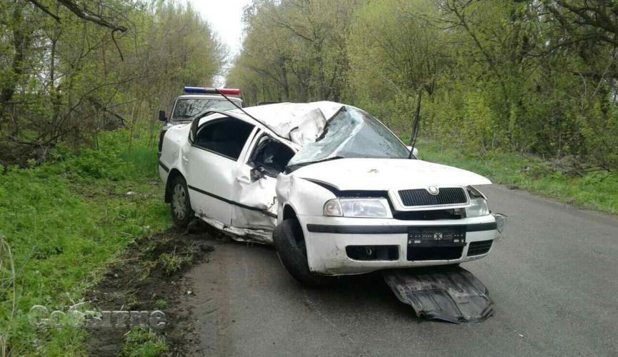 Пьяный замначальника патрульной полиции Днепра разбил машину