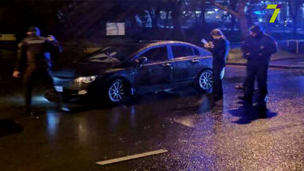 В Одессе пьяный военный прокурор устроил дебош перед патрульными