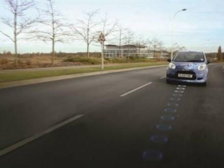Французы испытывают дорогу, заряжающую автомобили