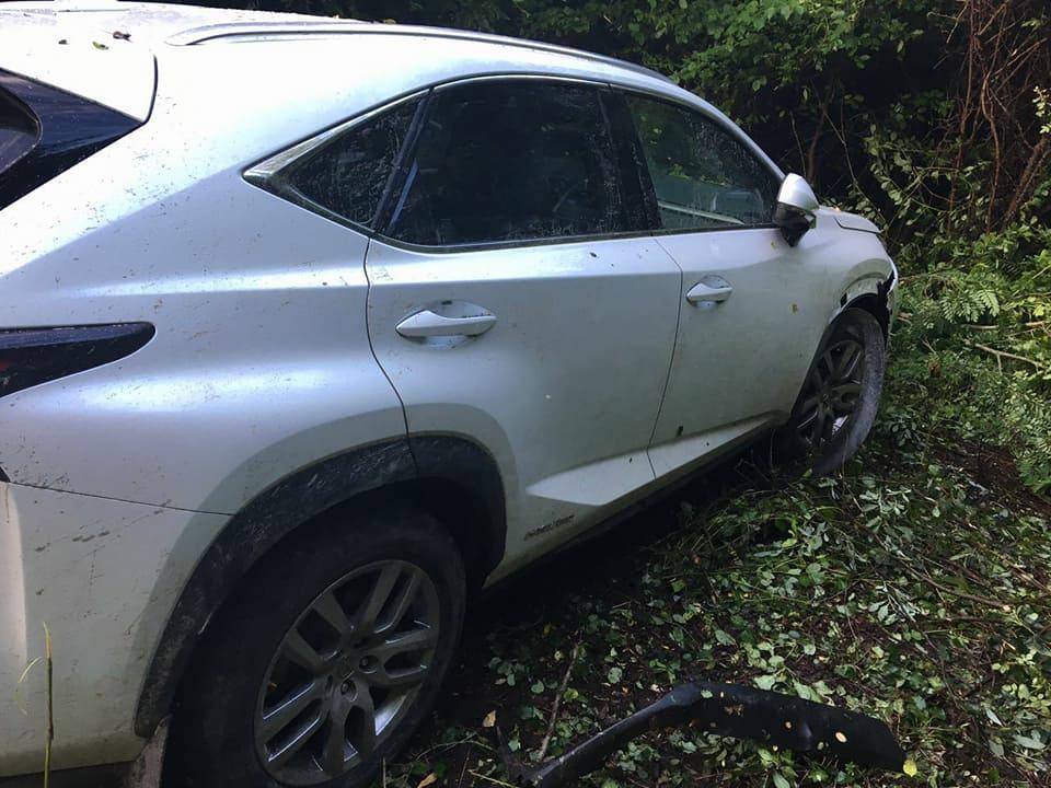 Наукраинско-венгерской границе автомобиль протаранил пограничника