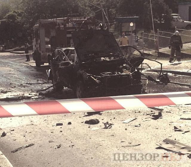 В Киеве убили сотрудника главного управления разведки Минобороны: взорвали вместе с машиной