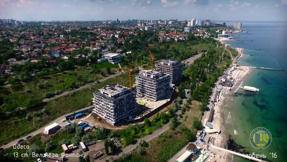 Полиция расследует законность строительства «высоток» на побережье Одессы