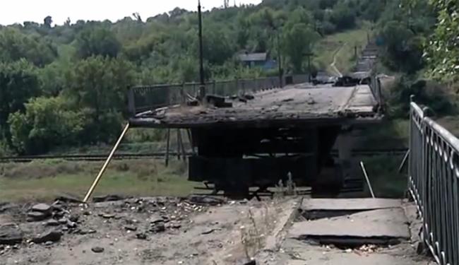 Диверсант получил 10 лет за подрыв моста через Северский Донец