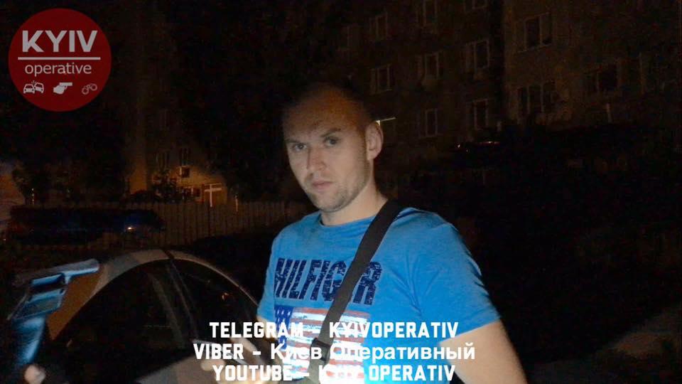 Пьяный сотрудник управления госохраны устроил дебош в Киеве