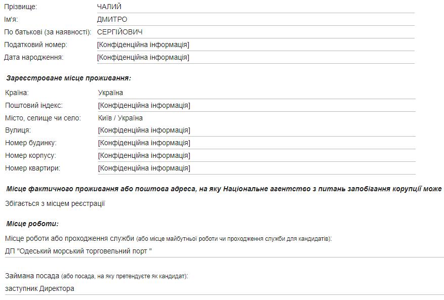 k4 - Дмитрий Чалый - подставное лицо в Черноморском порту?