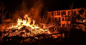 Руководство «Виктории» полчаса гасило пожар своими силами без вызова спасателей