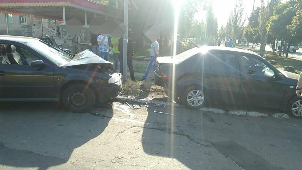 В Торецке полицейский-взяточник попал в аварию