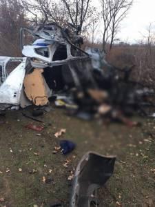 Экипаж донецкой полиции налетел на мину: погиб майор