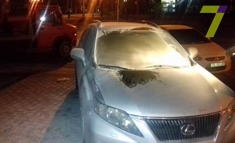 В Одессе пытались сжечь машину начальника управления земресурсов мэрии