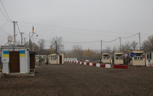 Луганский пункт пропуска «Золотое» начал работу в тестовом режиме
