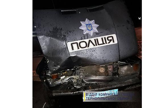 Два тернопольских полицейских пострадали в двойной аварии с погибшими