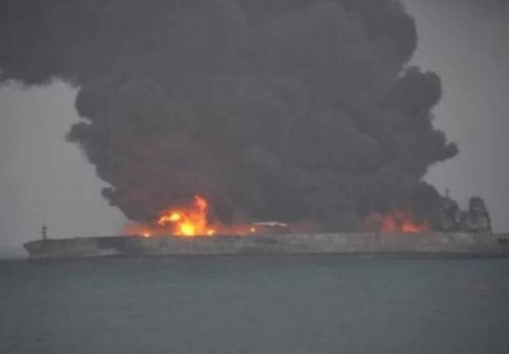 Иранский танкер потерпел крушение
